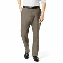 dockers Alpha Original Khaki Slim Tapered-Stretch Twill Pantaloni Uomo