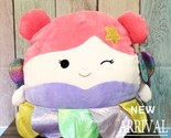 "KellyToy Squishmallow 16"" Nora the Pink Fairy Princess NEW HTF LT ED Plush Toy  - €37,42 EUR"