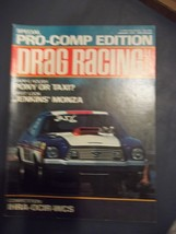 Vintage January 1975 Issue Of DRAG RACING Magazine Special Pro-Comp Edition - $12.86