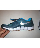 New Mens Nike Flex Training Running Shoes Sneakers 11 Blue Gray 12 Womens - $25.20