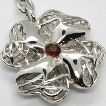 Keyring Argento 925 Pendant with Four-Leaf Clover by Maria Ielpo , Made in Italy image 2