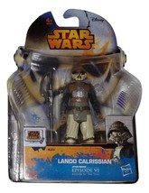 Star Wars Rebels Lando Calrissian Action Figure Hasbro - $11.00