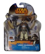 Star Wars Rebels Lando Calrissian Action Figure Hasbro - $10.00