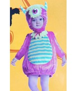 Baby Mini Monster Halloween Costume infant Size 6-12 Months Pink Yellow - $11.57