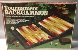 Tournament Backgammon Set E4314 Vintage 1978 - $12.94