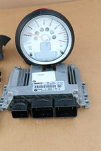 Mini Cooper R55 R56 R57 DME ECU ECM EKS CAS3 Computer Ignition Switch Fob Tach image 2