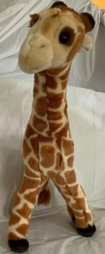 "Primary image for Geoffrey Giraffe Poseable Legs Plush Stuffed Animal Toys R Us 2002 Tall 18"" EUC"