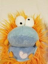 Manhattan Toy Company Plush Hand Puppet Blue Green Orange Monster Creatu... - $27.04