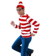 Wally Waldo Tv Cartoon Stag Night Outfit Adult Mens Fancy Dress Costumes - $13.24