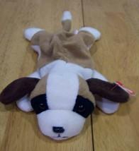 TY Beanie Baby BERNIE THE ST. BERNARD DOG Bean Bag Stuffed Animal - $15.35