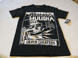 Metal Mulisha mens S sm Highway-SMU black t shirt Moto MM TEE NWT*^ - $32.66