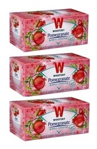 Wissotzky Pomegranate, 1.76-Ounce Boxes KP 3/20 bags - $18.25