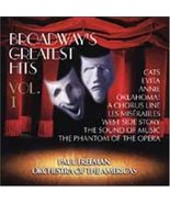 Broadway's Greatest Hits Volume 1 [Audio CD] Lloyd Webber, Andrew; Rodge... - $11.87