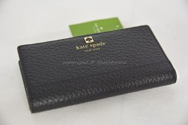 NWT! Kate Spade Southport Avenue Stacy Wallet in Black Leather Style # WLRU1394 - $99.00