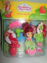 "NIP Strawberry Shortcake Mini 3"" Doll Perfume Atomizer Outfit Hair Dryer  - $14.99"