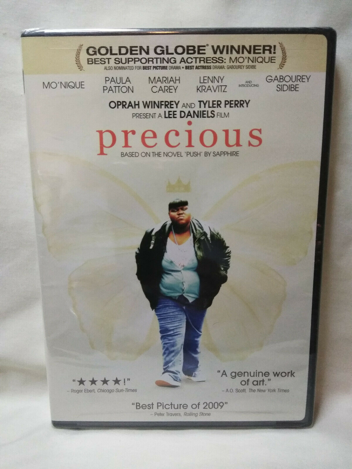 Precious: Based on the Novel PUSH by Sapphire (DVD, 2010) New Sealed