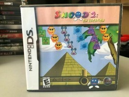 Snood 2 on Vacation (Nintendo DS, 2005) Brand New and Sealed - $9.88