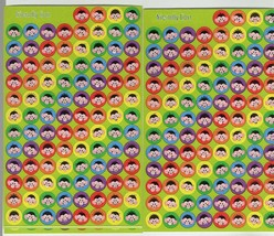 monkeys sheets of peel off stickers ideal cards, papercraft, displays, scrapbook