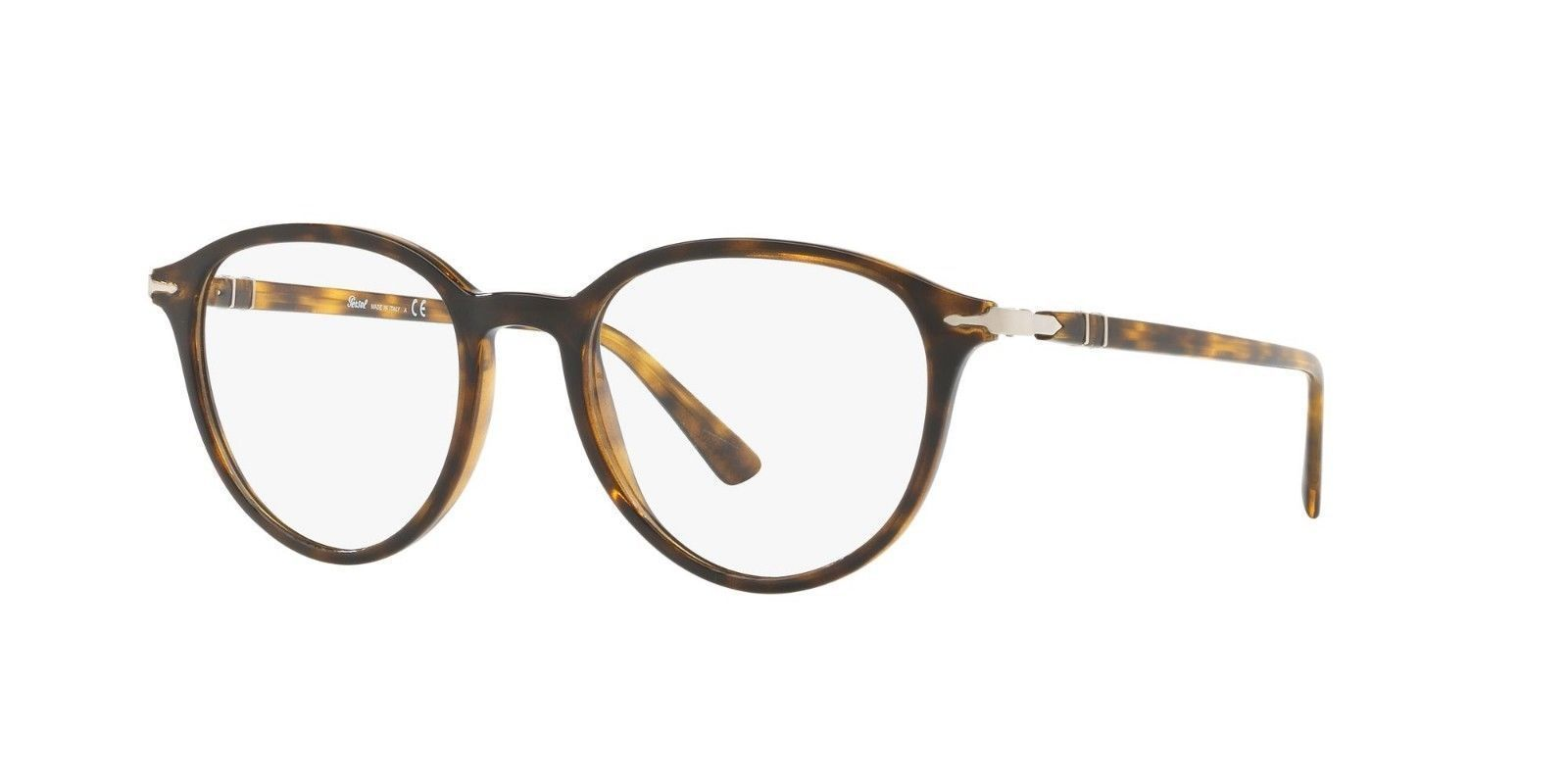 06a65add76 Persol Men Oval Eyeglasses PO3169V 1054 Havana Frame Demo Customisable Lens  - ₹6