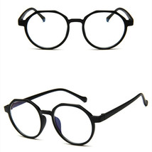 New Oval Fashion Classic Clear Lens Glasses Frame Retro Casual Daily Eyewear image 2