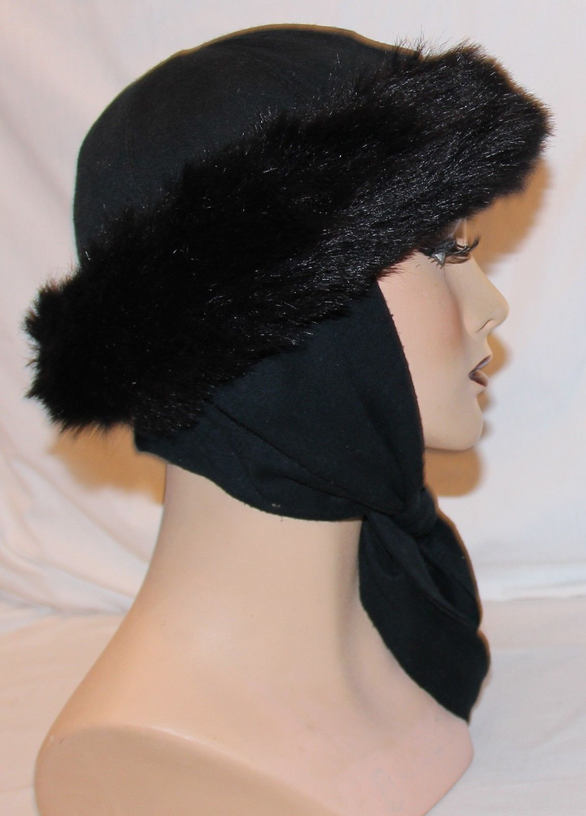 9f519ba8c57 Betmar Womens Black Hat Attached Scarf Faux and 14 similar items