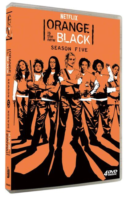 Orange Is the New Black The Complete Season 5 DVD Box Set 4 Disc Free Shipping