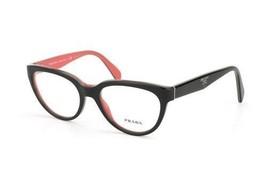 Prada Womens Glasses Eyeglasses Model VPR 10P Color KA3-101 Black Frame ... - £104.57 GBP