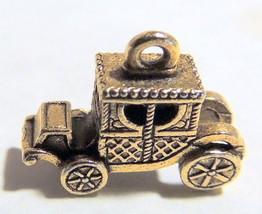 Coach mini Charm goldtone pendant car - $8.00