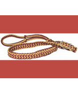 Direct Equine Poly Barrel Reins Burgundy and Tan - $9.99