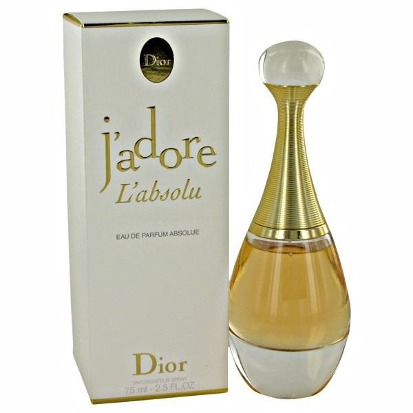 Jadore L'absolu Perfume by Christian Dior 2.5 oz Eau De Parfum Spray.