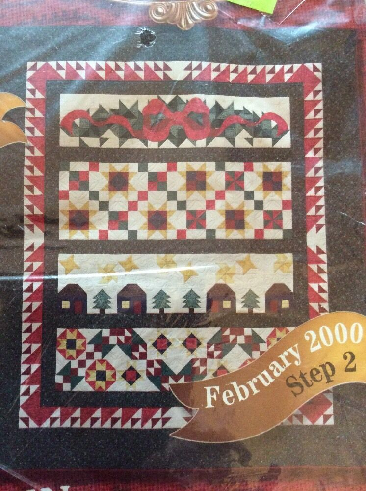 Primary image for JoAnn Fabrics 2000 Holiday Tidings February Step 2 Quilt Block Pack Month 2