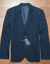 Armani Exchange A|X $230 Men's Navy Stretch Mid-weight Blazer Sport Coat 40 - $79.19