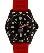 Hawaiian Lifeguard Men Official Association Dive Watch Stainless Steel J... - $235.95