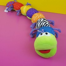 "Lamaze Plush Caterpillar Stuffed Animal Sensory 24"" Crinkles Rattles #A49 - $23.75"