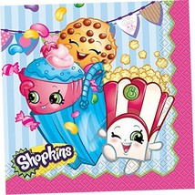 (3-Pack) Shopkins Party Napkins, 16ct Per Package - $9.02