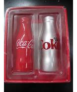 Coca-Cola Ceramic Salt & Pepper Shakers - NIB  CC-6 - $11.88