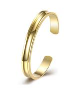 Gold Plated Elegant Cut Cuff Bracelets Bangle Womens - $13.71
