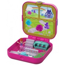 Polly Pocket Hidden Hideouts Lil' Princess Pad with Micro Lila Doll - $17.69