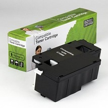 Value Brand replacement for Dell C1660W Black Toner (4G9HP) 7C6F7 (1,250 Yield) - $39.89