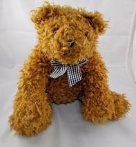 "Melissa Doug Lifelike Lovable Teddy Bear Plush Doll Sits 13"" Stuffed Animal - $7.95"
