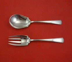 """Chippendale New by Alvin Sterling Silver Salad Serving Set 2pc Original 9"""" - $286.11"""