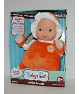 Baby's First Minky So Soft Doll Goldberger New (a) - $32.66