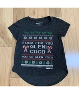 Mean Girls Women's Top Size S Gray You Go Glen Coco - $19.79