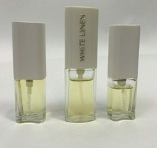 Estee Lauder White Linen Parfum Spray Vintage Lot 3 Bottles .25 .18  - $29.69