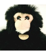 "Aurora Miyoni Tots Plush Chimpanzee 10.5"" Stuffed Animal Black Monkey Toy - $11.39"