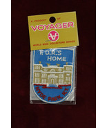 FDRs Home Voyager Patch USA President Home Souvenir Patch Factory Sealed - $12.86