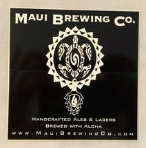 Maui Brewing Company Turtle Logo Craft Beer Mancave Hawaii - $3.99
