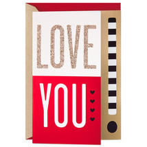 Love You Lots Valentine's Day Card With Envelope  - $4.99