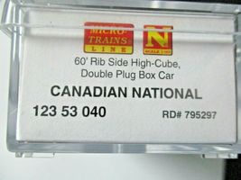 Micro-Trains # 99301870 Canadian National 60' High Cube Boxcar 3/Pack N-Scale image 10