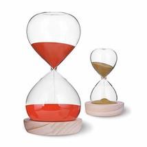 Hourglass Sand Timer Set-60 Minute & 5 Minute Timer Sets -Sand Clock Tim... - $24.90